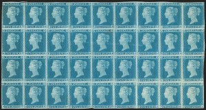 Sale Number 1198, Lot Number 3014, Line Engraved IssuesGREAT BRITAIN, 1849, 2p Pale Blue (SG Specialised ES13; SG 13; Scott 4a), GREAT BRITAIN, 1849, 2p Pale Blue (SG Specialised ES13; SG 13; Scott 4a)