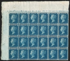 Sale Number 1198, Lot Number 3020, Line Engraved IssuesGREAT BRITAIN, 1858, 2p Blue (SG Specialised G2; SG 45; Scott 29), GREAT BRITAIN, 1858, 2p Blue (SG Specialised G2; SG 45; Scott 29)