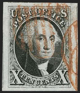 Sale Number 1199, Lot Number 1011, 1847 Issue and Reproductions (Scott 1-4)10c Black (2), 10c Black (2)