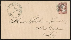 Sale Number 1199, Lot Number 1038, 3c-12c 1851-56 Issue (Scott 10-17)3c Dull Red, Ty. II (11A), 3c Dull Red, Ty. II (11A)