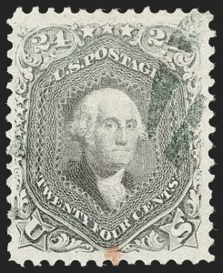 Sale Number 1199, Lot Number 1143, 1861-66 Issue (Scott 67-78)24c Grayish Lilac (78a), 24c Grayish Lilac (78a)