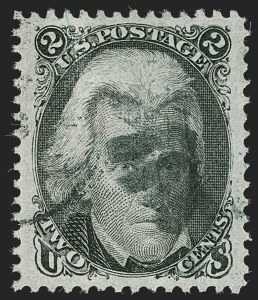 Sale Number 1199, Lot Number 1153, 1867-68 Grilled Issue (Scott 79-101)2c Black, E. Grill (87), 2c Black, E. Grill (87)