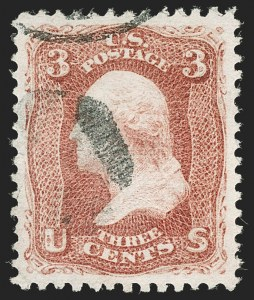 Sale Number 1199, Lot Number 1154, 1867-68 Grilled Issue (Scott 79-101)3c Lake Red, E. Grill (88a), 3c Lake Red, E. Grill (88a)