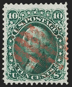 Sale Number 1199, Lot Number 1170, 1867-68 Grilled Issue (Scott 79-101)1861-68 Issues, Choice Used Balance (63/93), 1861-68 Issues, Choice Used Balance (63/93)