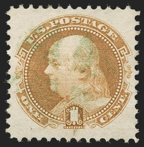 Sale Number 1199, Lot Number 1179, 1869 Pictorial Issue (Scott 112-122)1c Buff (112), 1c Buff (112)