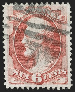 Sale Number 1199, Lot Number 1221, 1870-71 National Bank Note Co. Issue (Scott 134-155)6c Carmine, H. Grill (137), 6c Carmine, H. Grill (137)