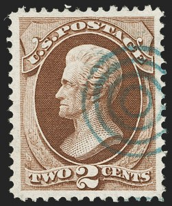 Sale Number 1199, Lot Number 1229, 1870-71 National Bank Note Co. Issue (Scott 134-155)2c Red Brown (146), 2c Red Brown (146)