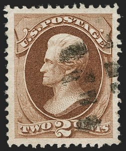 Sale Number 1199, Lot Number 1230, 1870-71 National Bank Note Co. Issue (Scott 134-155)2c Red Brown (146), 2c Red Brown (146)