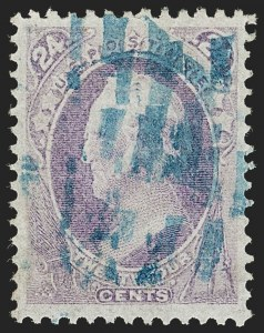 Sale Number 1199, Lot Number 1238, 1870-71 National Bank Note Co. Issue (Scott 134-155)24c Purple (153), 24c Purple (153)