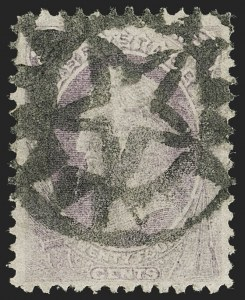 Sale Number 1199, Lot Number 1239, 1870-71 National Bank Note Co. Issue (Scott 134-155)24c Purple (153), 24c Purple (153)