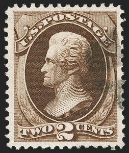 Sale Number 1199, Lot Number 1244, 1873 Continental Bank Note Co. Issue (Scott 156-166)2c Brown (157), 2c Brown (157)
