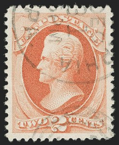 Sale Number 1199, Lot Number 1257, 1879-83 American Bank Note Co. Issues (Scott 182-211)2c Vermilion (183), 2c Vermilion (183)
