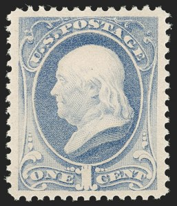 Sale Number 1199, Lot Number 1268, 1879-83 American Bank Note Co. Issues (Scott 182-211)1c Gray Blue (206), 1c Gray Blue (206)