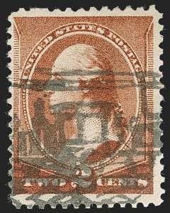 Sale Number 1199, Lot Number 1274, 1879-83 American Bank Note Co. Issues (Scott 182-211)2c Red Brown (210), 2c Red Brown (210)