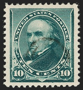 Sale Number 1199, Lot Number 1296, 1890-93 Issue (Scott 219-229)10c Green (226), 10c Green (226)