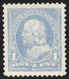 Sale Number 1199, Lot Number 1331, 1894 Unwatermarked Bureau Issue (Scott 246-263)1c Ultramarine (246), 1c Ultramarine (246)