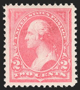 Sale Number 1199, Lot Number 1334, 1894 Unwatermarked Bureau Issue (Scott 246-263)2c Pink, Ty. I (248), 2c Pink, Ty. I (248)
