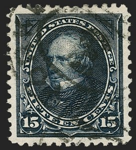 Sale Number 1199, Lot Number 1364, 1895 Watermarked Bureau Issue (Scott 264-278)15c Dark Blue (274), 15c Dark Blue (274)