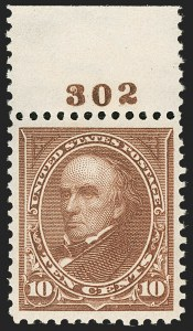 Sale Number 1199, Lot Number 1384, 1897-1903 Change of Colors (Scott 279-284)10c Brown, Ty. I (282C), 10c Brown, Ty. I (282C)