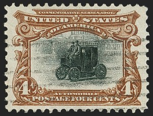 Sale Number 1199, Lot Number 1401, 1901 Pan-American Issue (Scott 294-299)2c-4c Pan-American (295-296), 2c-4c Pan-American (295-296)