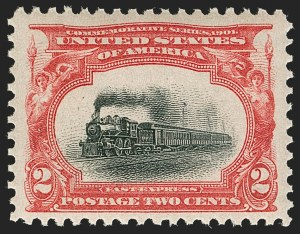 Sale Number 1199, Lot Number 1403, 1901 Pan-American Issue (Scott 294-299)2c Pan-American (295), 2c Pan-American (295)