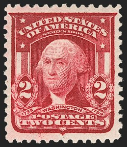 Sale Number 1199, Lot Number 1419, 1902-08 Issues (Scott 300-320)2c Carmine Rose, Ty. I (319b), 2c Carmine Rose, Ty. I (319b)