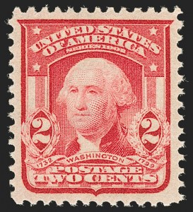 Sale Number 1199, Lot Number 1422, 1902-08 Issues (Scott 300-320)2c Carmine, Ty. II (319Fi, formerly 319i), 2c Carmine, Ty. II (319Fi, formerly 319i)