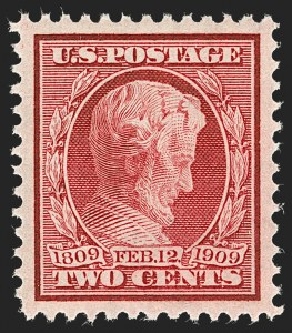 Sale Number 1199, Lot Number 1446, 1909 Commemorative Issues (Scott 367-373)2c Lincoln (367), 2c Lincoln (367)