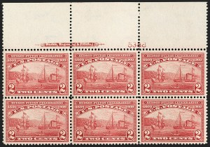 Sale Number 1199, Lot Number 1449, 1909 Commemorative Issues (Scott 367-373)2c Hudson-Fulton (372), 2c Hudson-Fulton (372)