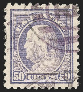 Sale Number 1199, Lot Number 1492, 1916-17 Issues (Scott 462-518)50c Light Violet (477), 50c Light Violet (477)