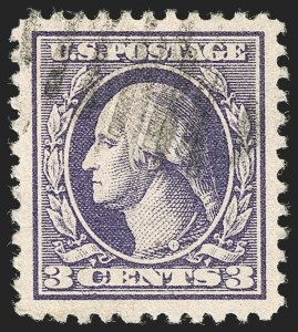 Sale Number 1199, Lot Number 1525, 1917-20 Issues (Scott 519-547)3c Purple, Ty. IV (530), 3c Purple, Ty. IV (530)