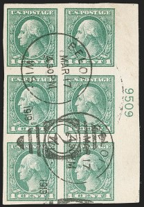 Sale Number 1199, Lot Number 1526, 1917-20 Issues (Scott 519-547)1c Green (531), 1c Green (531)