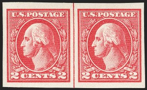 Sale Number 1199, Lot Number 1528, 1917-20 Issues (Scott 519-547)2c Carmine, Ty. V, Imperforate (533), 2c Carmine, Ty. V, Imperforate (533)