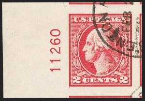 Sale Number 1199, Lot Number 1529, 1917-20 Issues (Scott 519-547)2c Carmine, Ty. V, Imperforate (533), 2c Carmine, Ty. V, Imperforate (533)