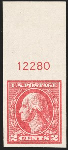 Sale Number 1199, Lot Number 1531, 1917-20 Issues (Scott 519-547)2c Carmine, Ty. VII, Imperforate (534B), 2c Carmine, Ty. VII, Imperforate (534B)
