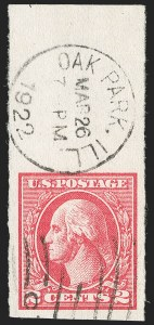 Sale Number 1199, Lot Number 1533, 1917-20 Issues (Scott 519-547)2c Carmine, Ty. VII, Imperforate (534B), 2c Carmine, Ty. VII, Imperforate (534B)