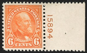 Sale Number 1199, Lot Number 1541, 1922-29 and Later Issues6c Red Orange (558), 6c Red Orange (558)