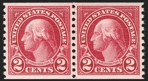 Sale Number 1199, Lot Number 1546, 1922-29 and Later Issues2c Carmine Lake, Coil (599b), 2c Carmine Lake, Coil (599b)
