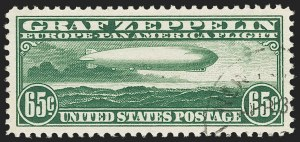 Sale Number 1199, Lot Number 1571, Air Post65c Graf Zeppelin (C13), 65c Graf Zeppelin (C13)