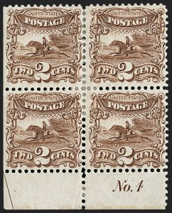 Sale Number 1200, Lot Number 106, 1875 Re-Issue of 1869 Pictorial Issue (Scott 124-133a),
