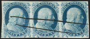 Sale Number 1200, Lot Number 11, 1¢-12¢ 1851-56 Issue (Scott 5-17),