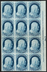 Sale Number 1200, Lot Number 12, 1¢-12¢ 1851-56 Issue (Scott 5-17),