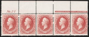 Sale Number 1200, Lot Number 124, 1873 Continental Bank Note Co. Issue (Scott 156-166, 178),