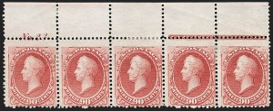 Sale Number 1200, Lot Number 125, 1873 Continental Bank Note Co. Issue (Scott 156-166, 178),