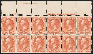 Sale Number 1200, Lot Number 134, 1887 American Bank Note Co. Issue (Scott 214-218),