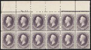 Sale Number 1200, Lot Number 136, 1887 American Bank Note Co. Issue (Scott 214-218),