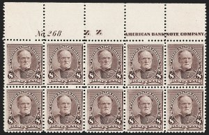 Sale Number 1200, Lot Number 138, 1890-93 Issue (Scott 219-229),
