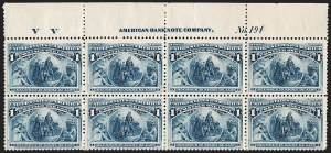 Sale Number 1200, Lot Number 140, 1¢-50¢ 1893 Columbian Issue (Scott 230-245),