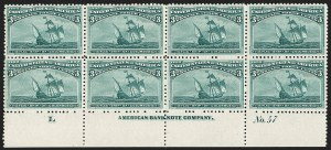 Sale Number 1200, Lot Number 142, 1¢-50¢ 1893 Columbian Issue (Scott 230-245),