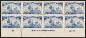 Sale Number 1200, Lot Number 143, 1¢-50¢ 1893 Columbian Issue (Scott 230-245),